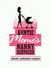 Auntie Meme's Nanny Services, Babysitting, maid services